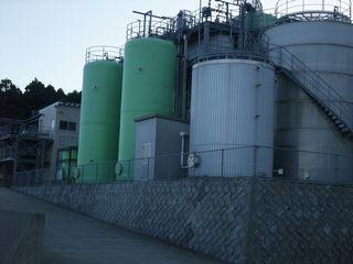 三岳酒造 芋搾りかすメタン処理施設