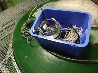 三岳酒造 貯蔵タンクの攪拌装置