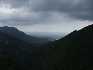 宮之浦の遠景