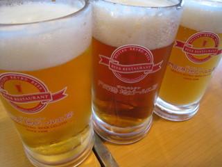 地ビール3種(門司港地ビール工房)