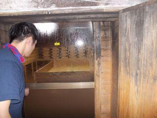 製麹室入口(中村酒造場)