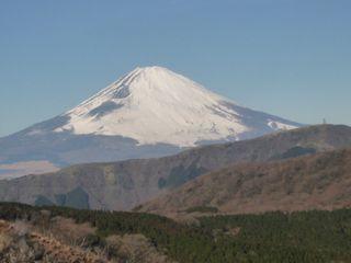 箱根ロープウェイからの富士山