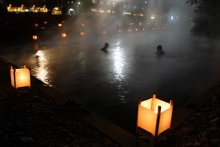 夜の仙人風呂