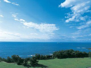 潮岬からの太平洋の景色